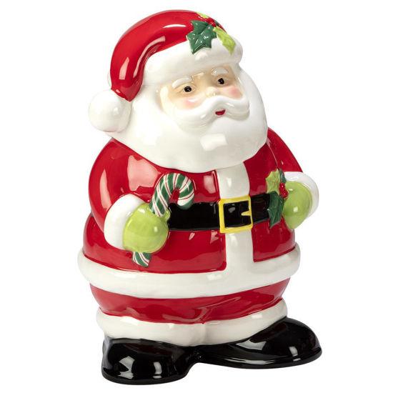 Holiday Magic Santa 3-D Cookie Jar by Certified International