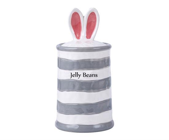 Bunny Nibbles Treat Jar by Blue Sky Clayworks