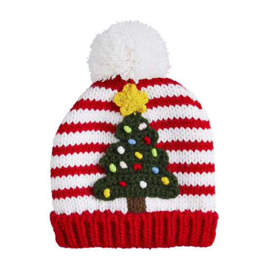 Christmas Tree Knit Hat (Assorted) by Mudpie