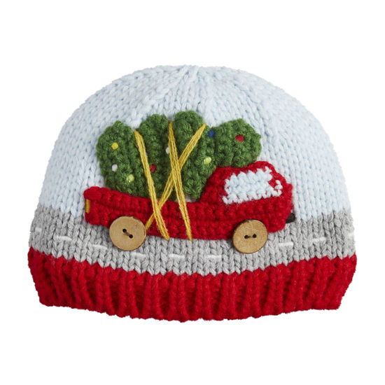 Christmas Truck Knit Hat (Assorted) by Mudpie