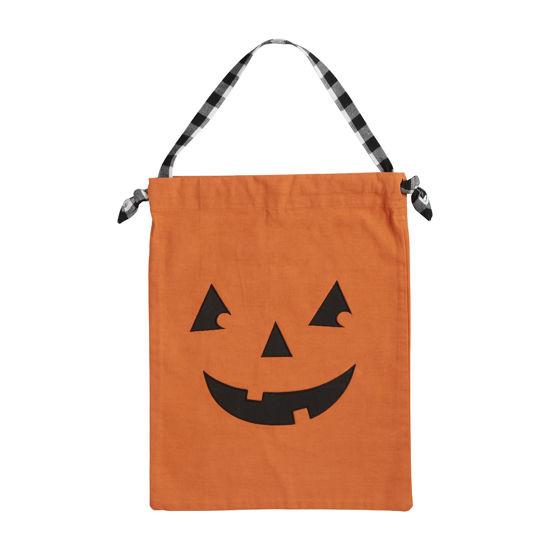Pumpkin Pillowcase Candy Bag by Mudpie
