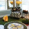 Bumble Bee Pillow by MacKenzie-Childs