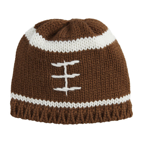 Football Knit Hat (Assorted) by Mudpie