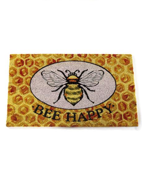 Bee Happy Doormat by Giftcraft