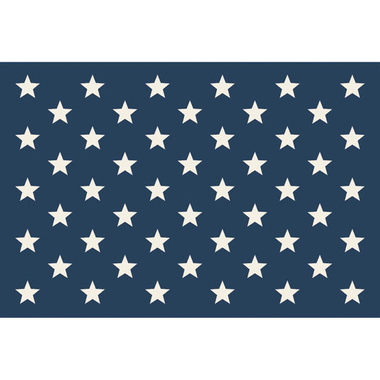 Stars on Blue Placemat by Hester & Cook