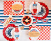 Die-Cut Star-Spangled Placemat by Hester & Cook