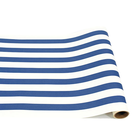 Navy Classic Stripe Runner by Hester & Cook