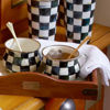 Courtly Check Enamel Teacup by MacKenzie-Childs
