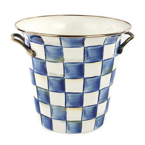 Royal Check Enamel Wine Cooler by MacKenzie-Childs