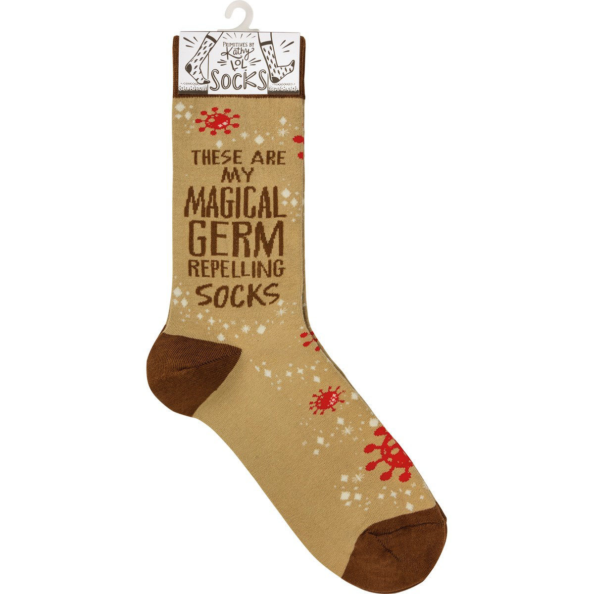 My Magical Germ Repelling Socks by Primitives by Kathy