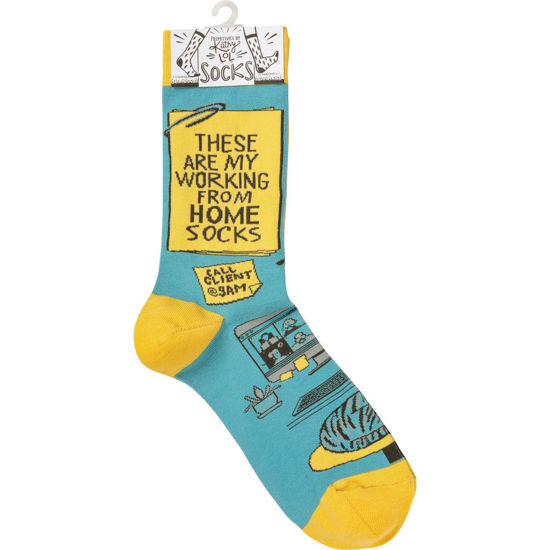 My Working From Home Socks by Primitives by Kathy