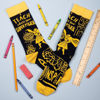 I Teach What's Your Super Power Socks by Primitives by Kathy