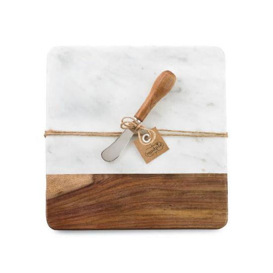Marble & Wood Board Set by Mudpie