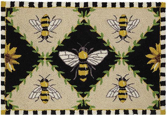 Bumblebee Hook Rug by Peking Handicraft