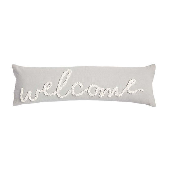 Welcome Large Knot Pillow by Mudpie