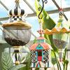 Poplar Ridge Pendant Bird Feeder by MacKenzie-Childs