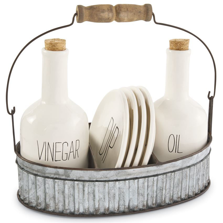 Oil & Vinegar Appetizer Set by Mudpie