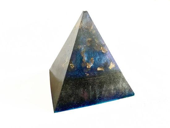 Night Sky Extra Small Pyramid by Spirited Pyramids