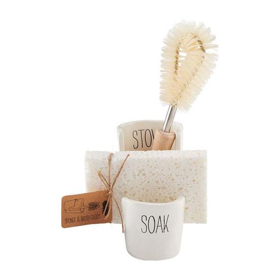 Sponge & Brush Caddy Set by Mudpie