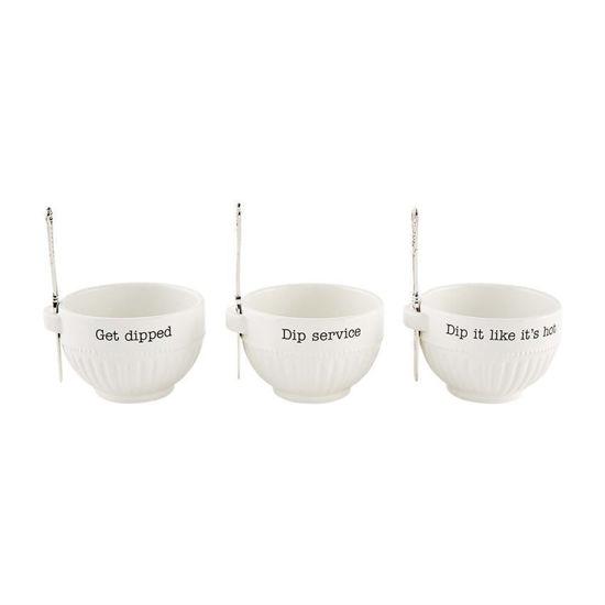 Dip Bowl Sets by Mudpie