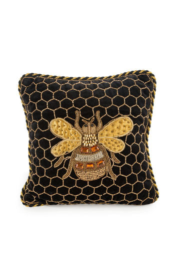 Queen Bee Pillow by MacKenzie-Childs