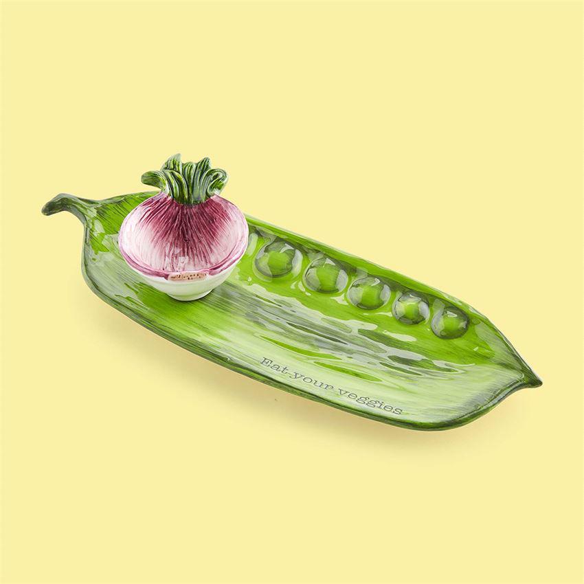 Veggie Tray & Dip Set by Mudpie