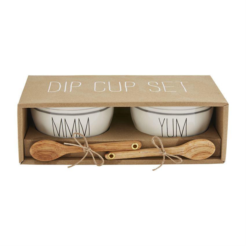 Bistro Yummmm Dip Cup Set by Mudpie
