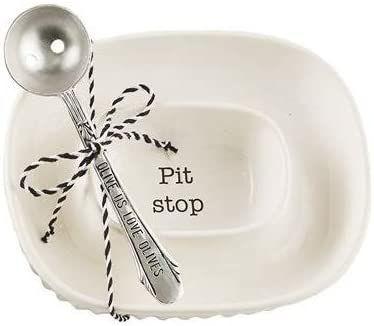 Olive Pit Bowl Set by Mudpie