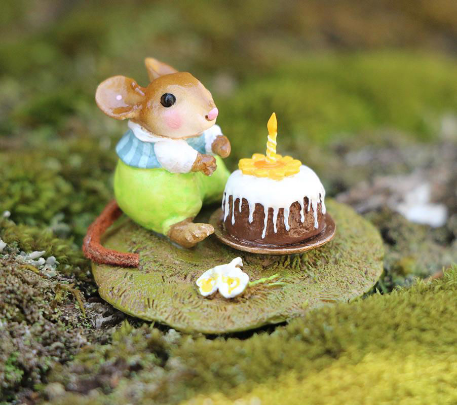Wee Wishes M-611a (Blue) By Wee Forest Folk®