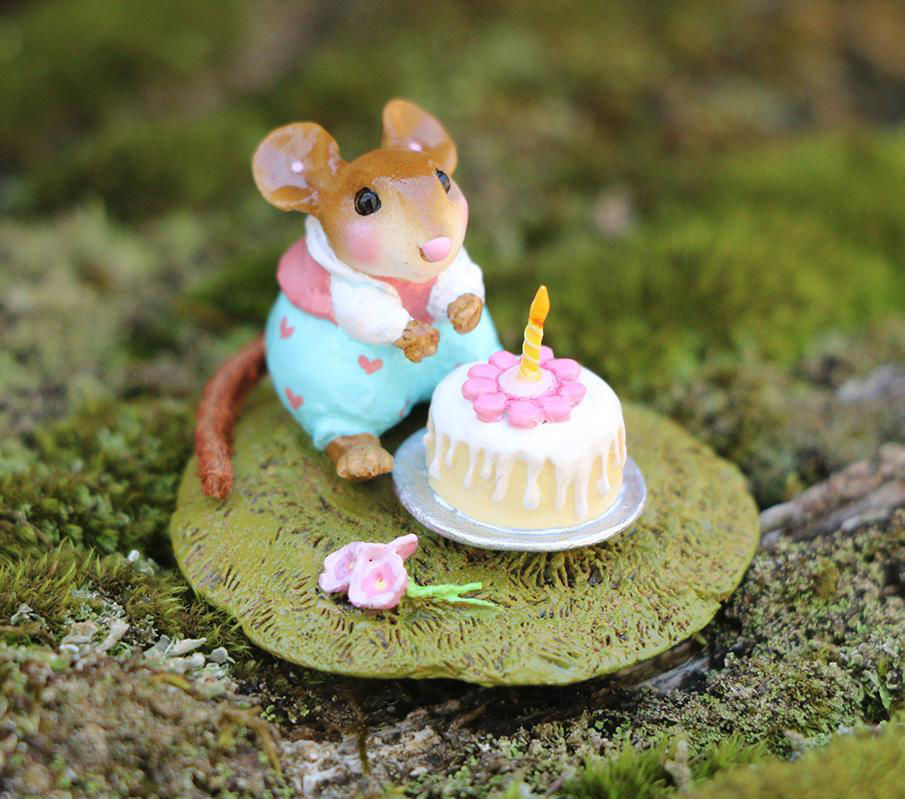 Wee Wishes M-611a (Pink) By Wee Forest Folk®