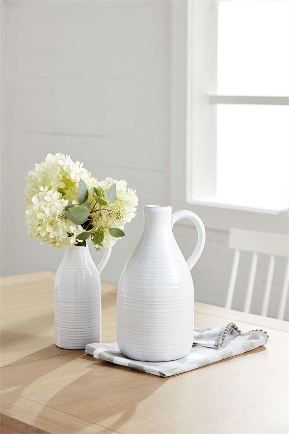Small Milk Jug Vase by Mudpie