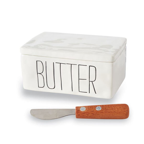 Bistro Butter Container by Mudpie