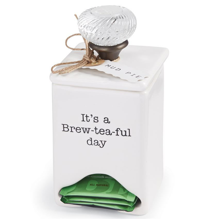 Tea Bag Caddy by Mudpie