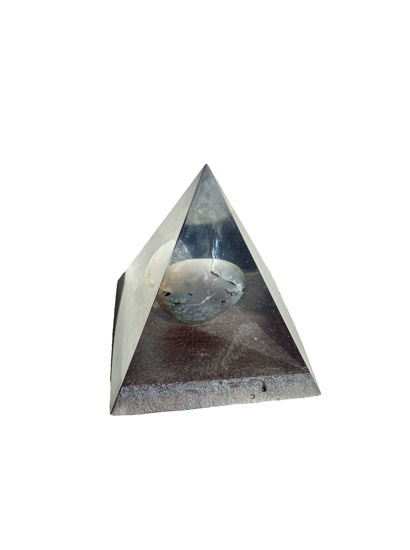 Agate Gemstone Small Pyramid by Spirited Pyramids