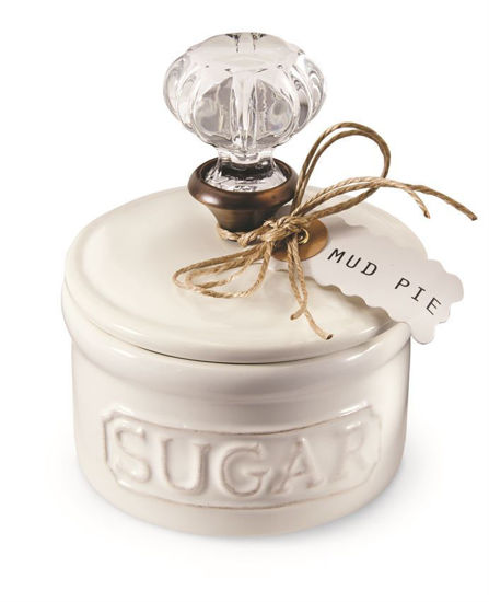 Door Knob Sugar Bowl by Mudpie
