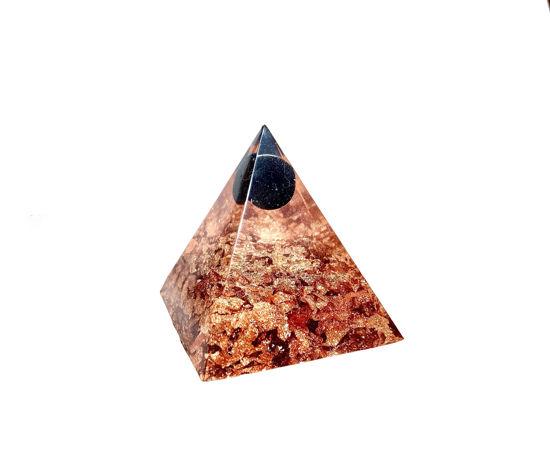 Black Gem and RSG Extra Small Pyramid by Spirited Pyramids