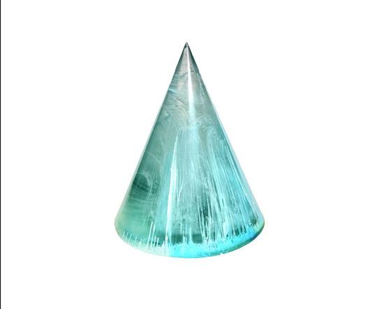 Blue & Green Swirl Ring Holder by Spirited Pyramids