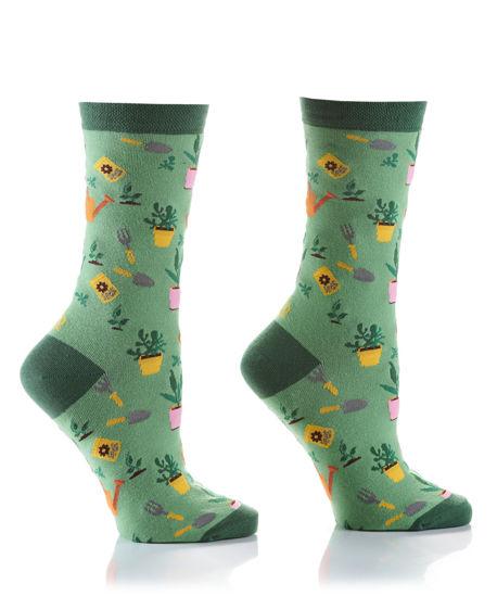 Gardener Women's Crew Socks by Yo Sox