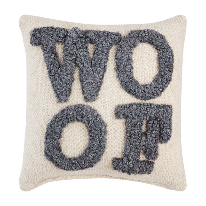 Small Hook Dog Pillows by Mudpie