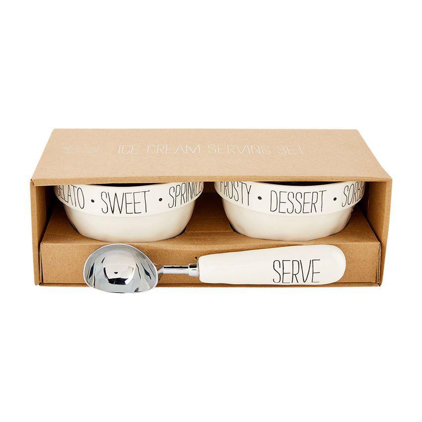 Bistro Ice Cream Gift Set by Mudpie
