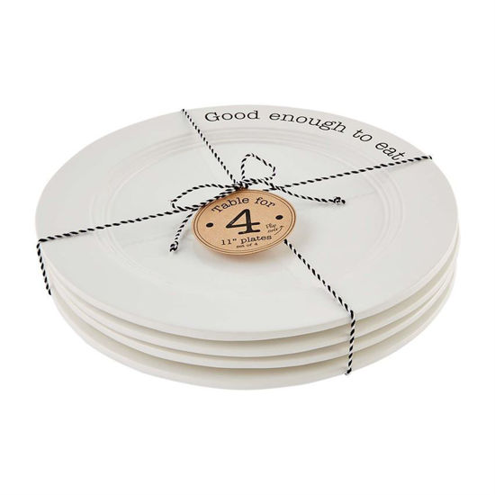 Table For 4 Dinner Plate Set by Mudpie