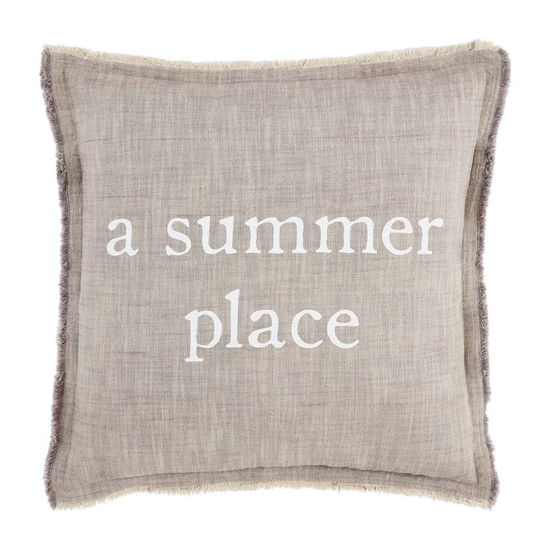 A Summer Place Pillow by Mudpie