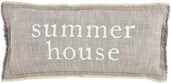 Summer House Pillow by Mudpie