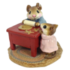 Mom and Ginger Baker M-115 (Rust) by Wee Forest Folk®