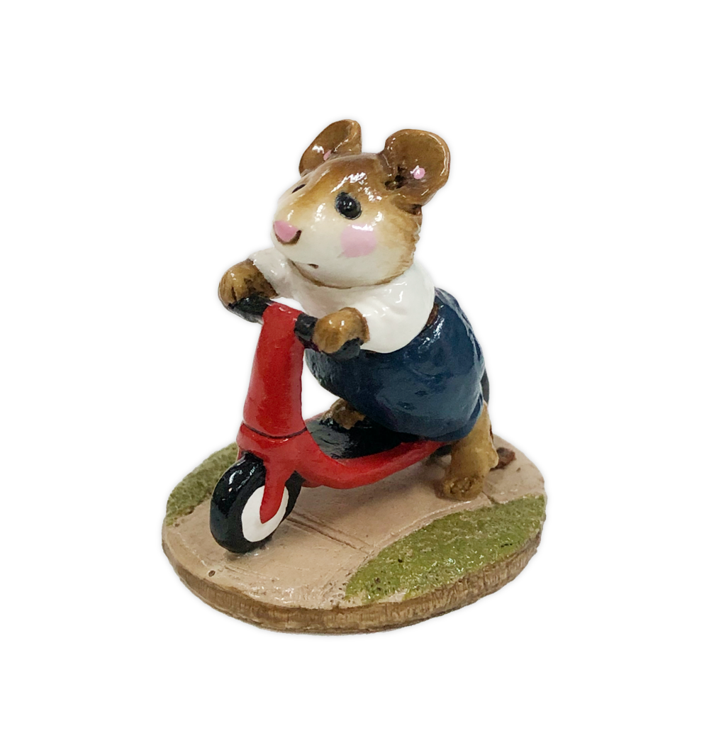 Scooter Mouse M-152 (Blue Pants) by Wee Forest Folk®