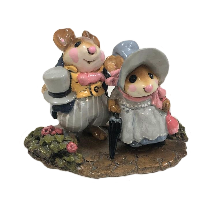 Lord & Lady Mousebatten M-195 by Wee Forest Folk®