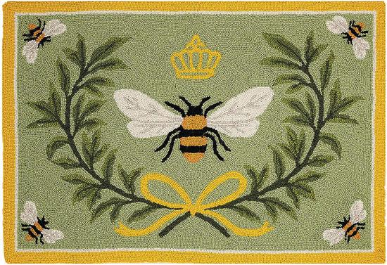 Queen Bee Hook Rug by Peking Handicraft