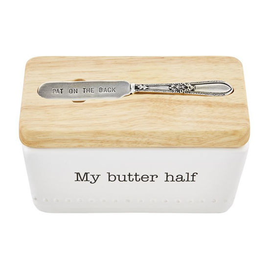 Butter Dish Set by Mudpie