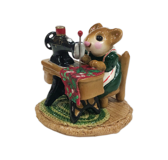 Miss Bobbin M-040 (Christmas Green) by Wee Forest Folk®