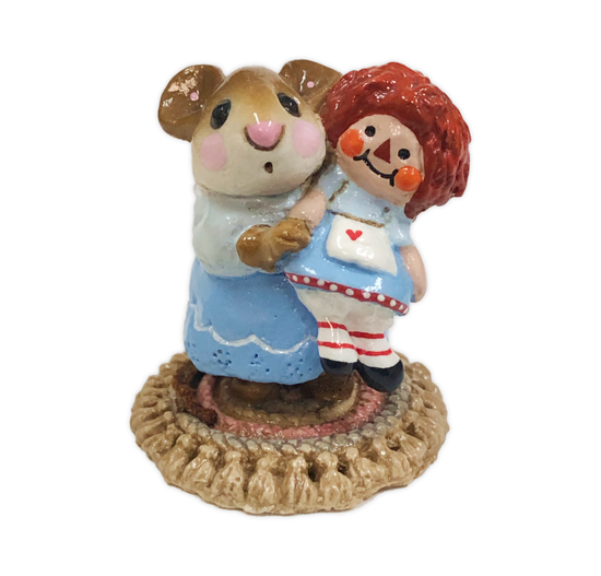 Me and Raggedy Ann (Blue Special) M-070 by Wee Forest Folk®